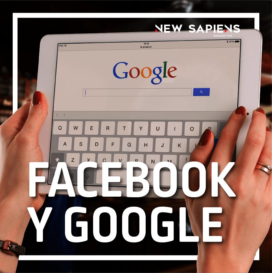 Facebook y google