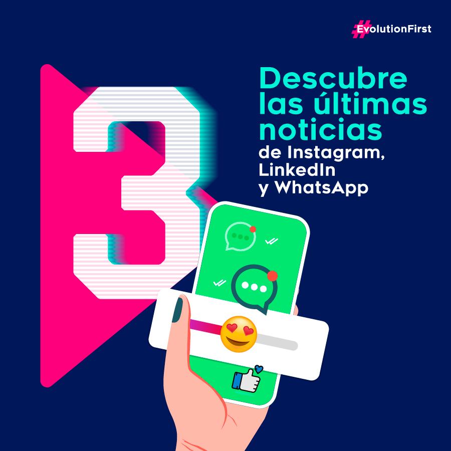 Instagram, Salud Mental, Redes Sociales, LinkedIn, Soluciones de Marketing, Métricas, WhatsApp, Directorio de Marcas, WhatsApp Business, New Sapiens